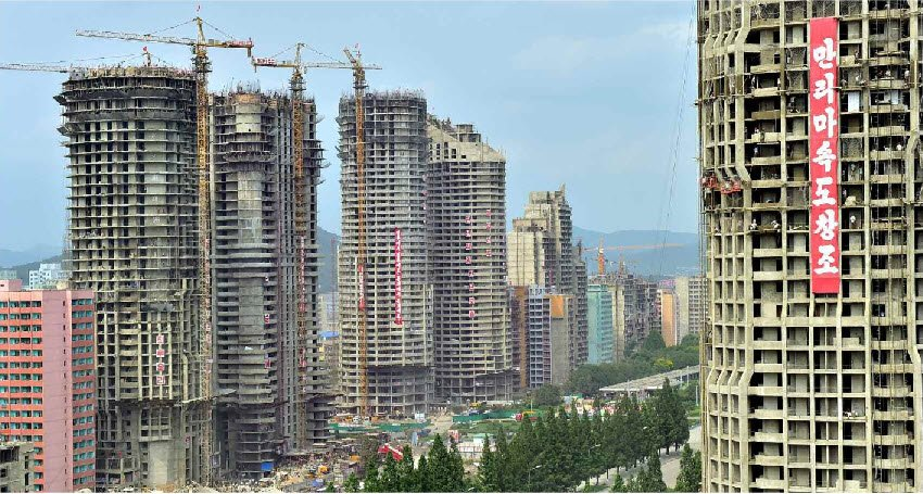 North Korean Officials Are Afraid To Live In New Pyongyang High-Rises