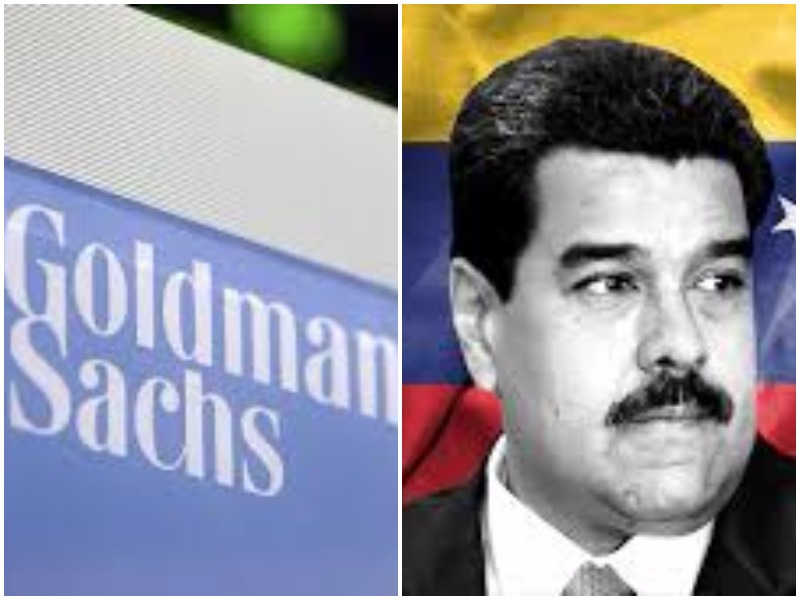 Goldman Sachs Accused Of Tossing 'Financial Lifeline' To Venezuelan Dictator
