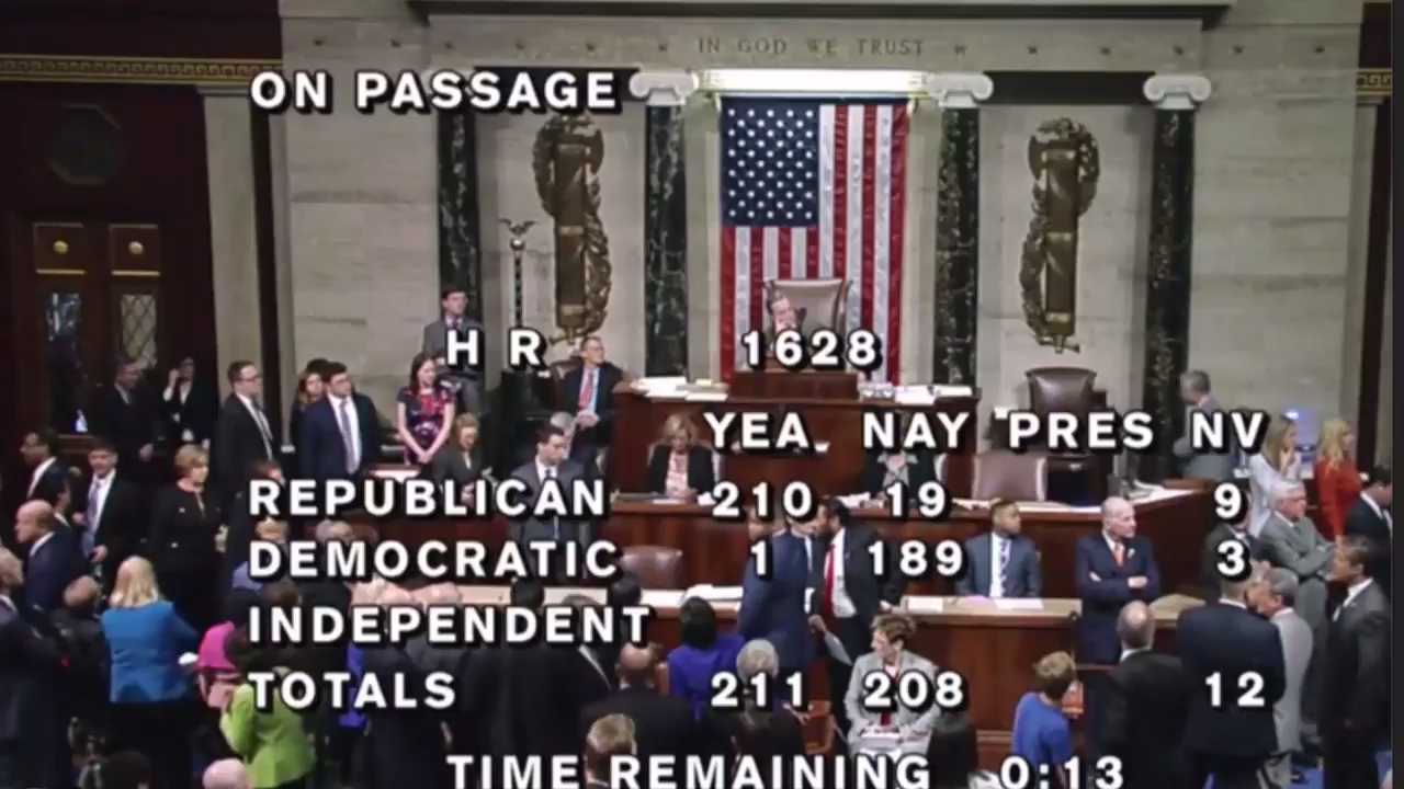 "House Dems Chant ""Hey Hey Hey, Goodbye"" to House GOP Following AHCA Passage"
