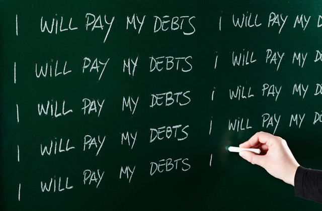 how to stay out of debt for good