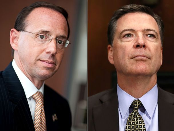 Comey Was Allegedly Worried About Rosenstein Appointment