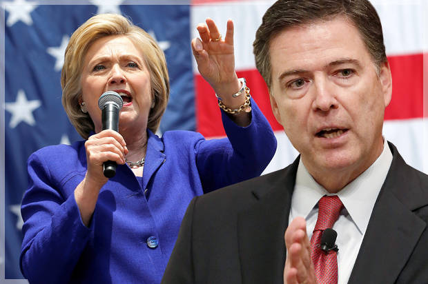 Did 'Fake Intel' Trick Comey Into Ending The Clinton Email Probe Early?