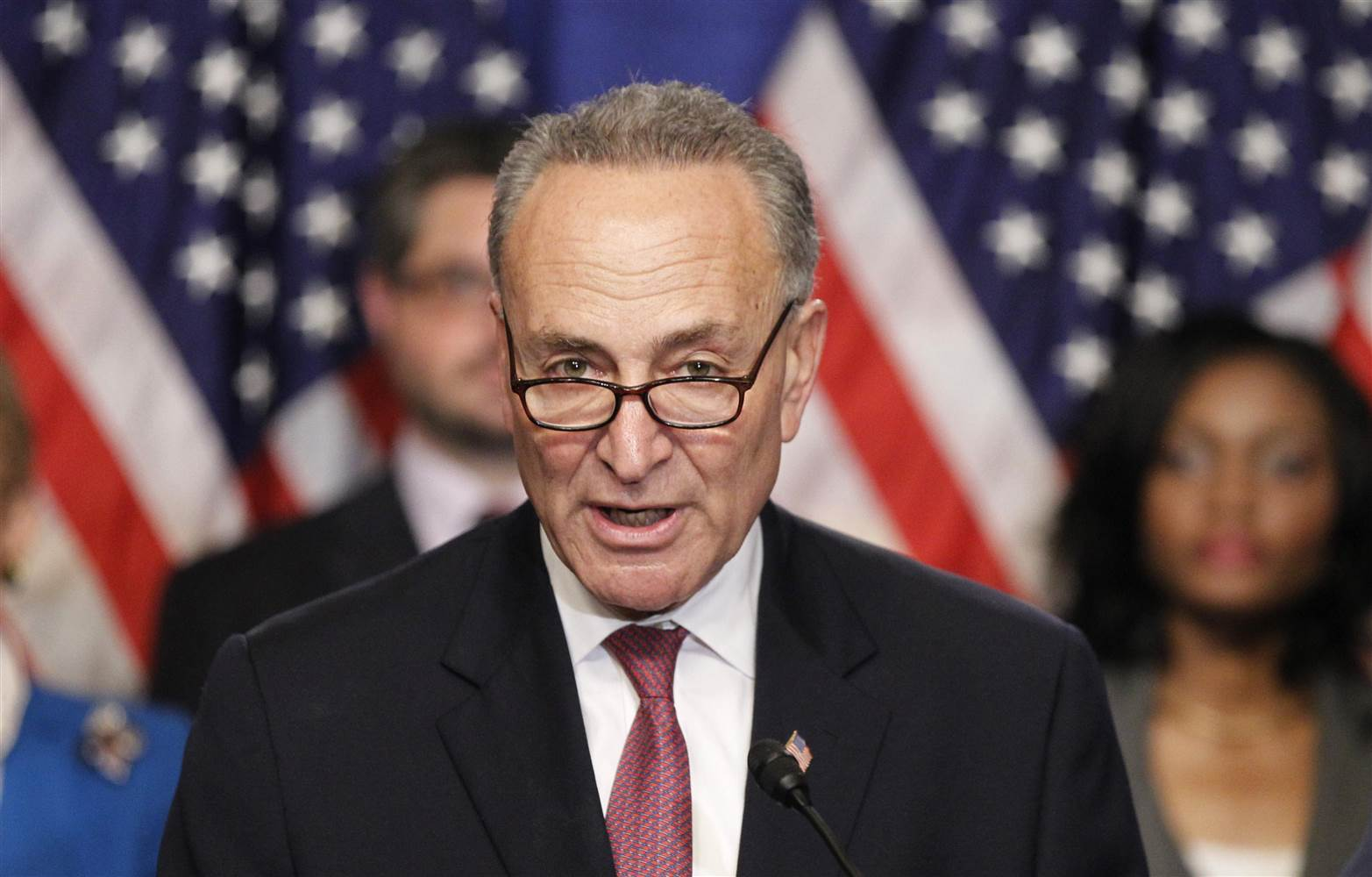 Sen Chuck Schumer Says Sessions Was 'In Dereliction Of His Duty,' Calls For Resignation