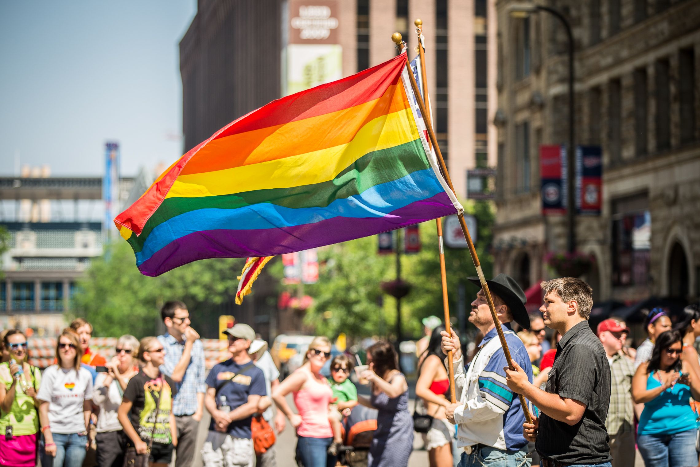Black Lives Matter Protesters Angry That Police Marched In Pride Parade