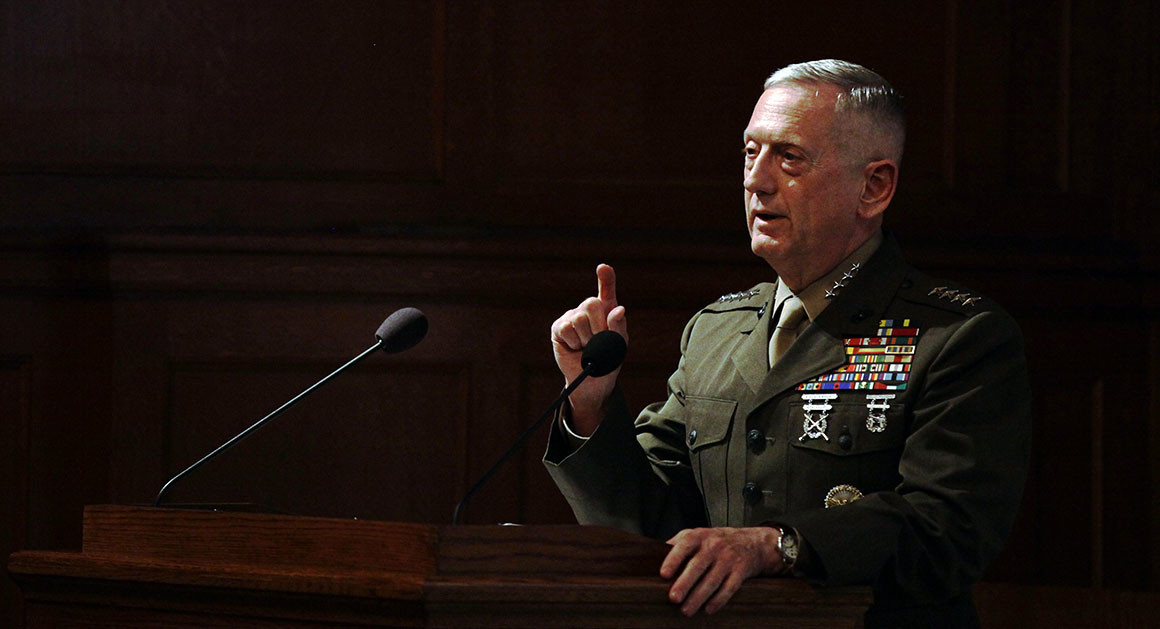 Mattis: 'We're Not Winning In Afghanistan Right Now'