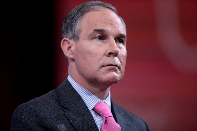 Report: Scott Pruitt May Ask Former Obama Official To Lead A Climate 'Red Team'