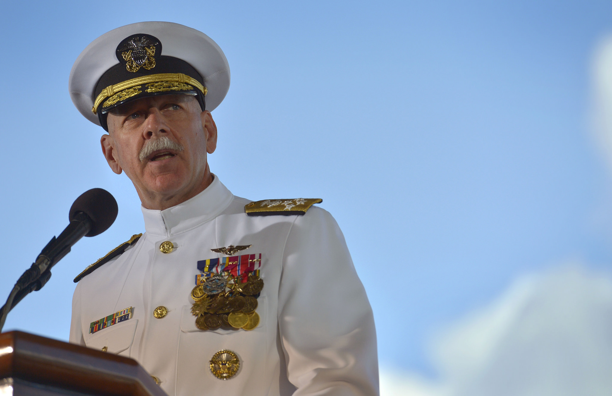 US Admiral Says He'd Nuke Beijing If Trump Told Him To