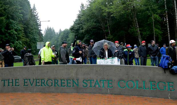 Evergreen State Calls Protesters' Actions 'Criminal'…Two Months After The Fact
