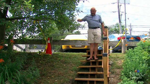 Man Builds Park Stairs for $550 after Govt Estimates Cost at $65,000