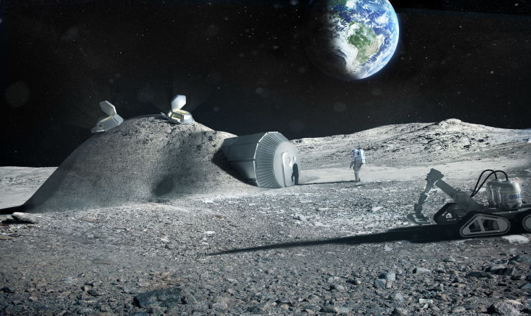 Elon Musk Wants To Build A Moon Base [VIDEO]