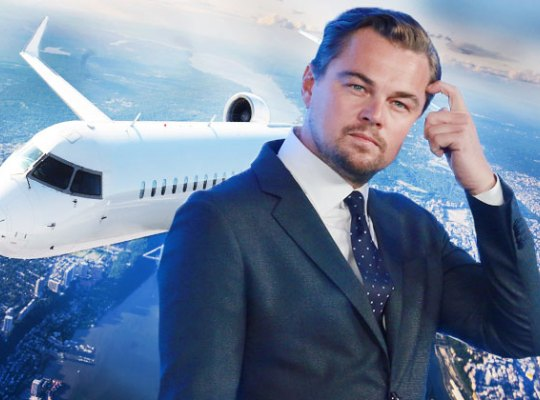 'Big Polluter' DiCaprio Hypes Gore's New Film On Climate Change
