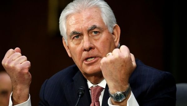 Tillerson Might Not Last A Year At State