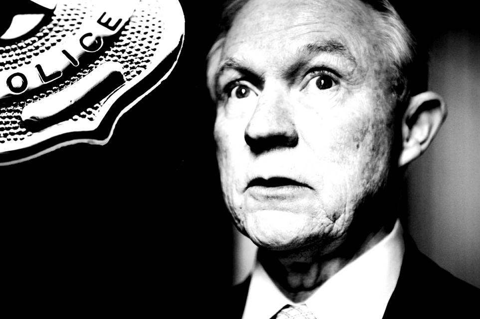 Top Five Ways Jeff Sessions is Expanding the Police State