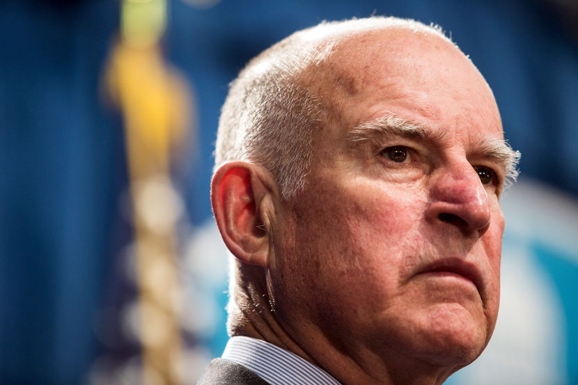 Gov Jerry Brown Believes Fate Of World Rests On California's Climate Program