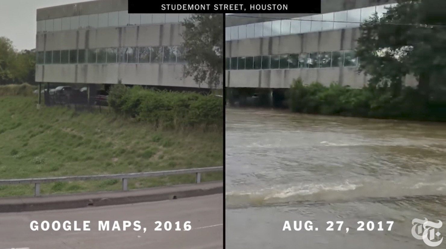 DEVASTATION: Houston Before And After Video