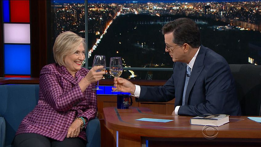 The Late Show: Hillary Describes Herself as 'Paul Revere' [VIDEO]