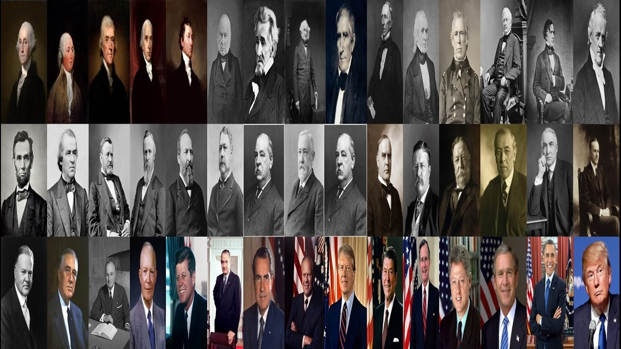 Perceptions of presidential pomp for Pictures of all presidents of the united states in order