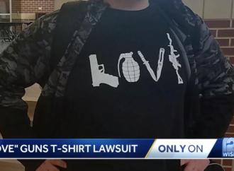 High School Student Sues School Over Pro-Gun T-shirt Ban [VIDEO]