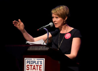 Cynthia Nixon Is Demanding The Debate Hall Be 76 Degrees Because Cool Rooms Are 'Sexist'