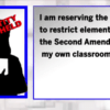 Entitled Professor Punishes Students For Believing In 2nd Amendment