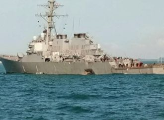 Chinese Warship Nearly Rams US Navy Destroyer