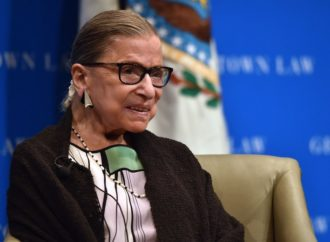 Ruth Bader Ginsburg Falls, Breaks Three Ribs