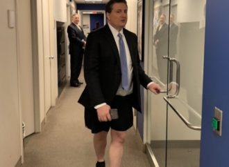 Hillary Clinton Advisor Screams With No Pants On At Fox Headquarters