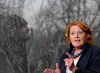 Heitkamp Spreads False Claim Suggesting Hunters Could Lose License If They Vote