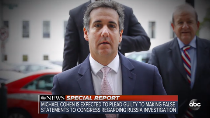 Report: Michael Cohen To Plead Guilty In Mueller Probe