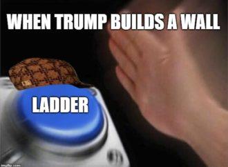 Ladders and Giant Escalators vs. Trump's Wall GoFundMe