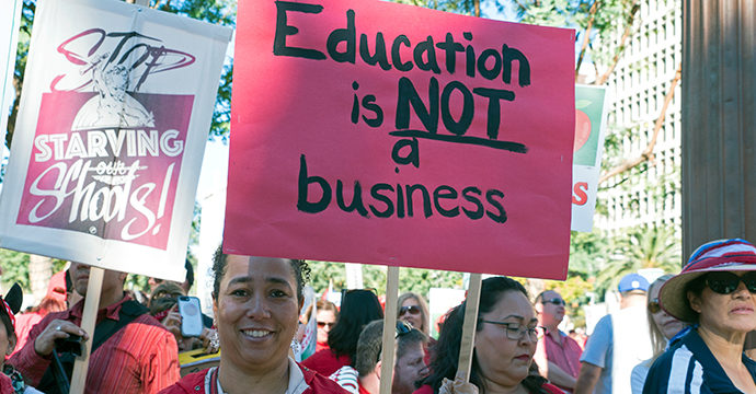 Here's What Is Driving The Los Angeles Teacher Strike