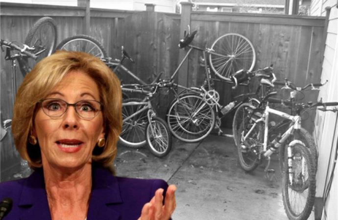 Betsy DeVos Undergoes Surgery Following Biking Accident