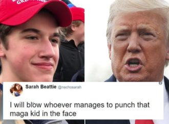 Petition for Trump to Punch Nicholas Sandmann in Face Surfaces on Change.org