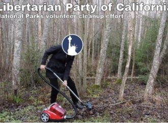 Local Libertarian Party Helps Keep Yosemite Park clean