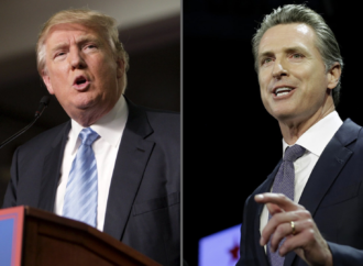 Trump Responds To Gavin Newsom's New Wildfire With A Threat To Cut Off FEMA Funding