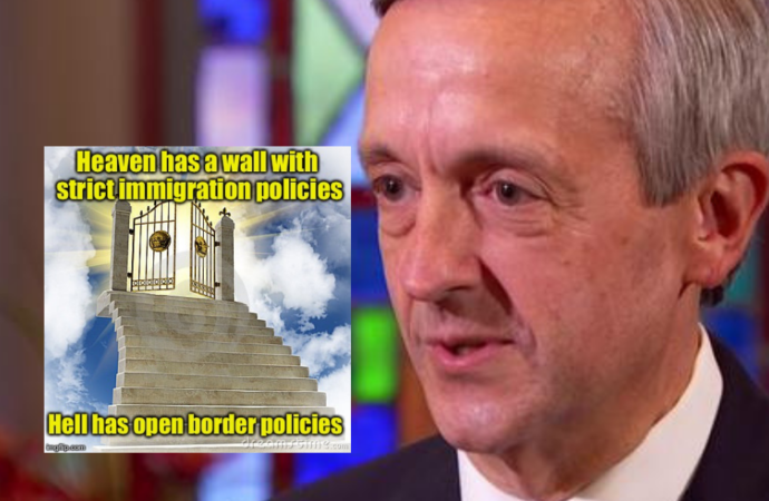 Pastor: 'Heaven Itself Is Gonna Have A Wall'
