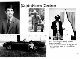 Blackface, KKK Photo Surfaces in Virginia Governor's Yearbook
