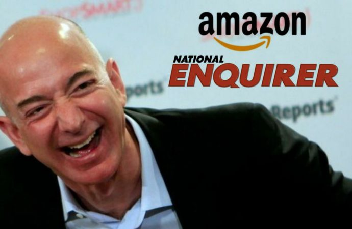 National Enquirer Extorts Bezos, Gets Bought By Amazon