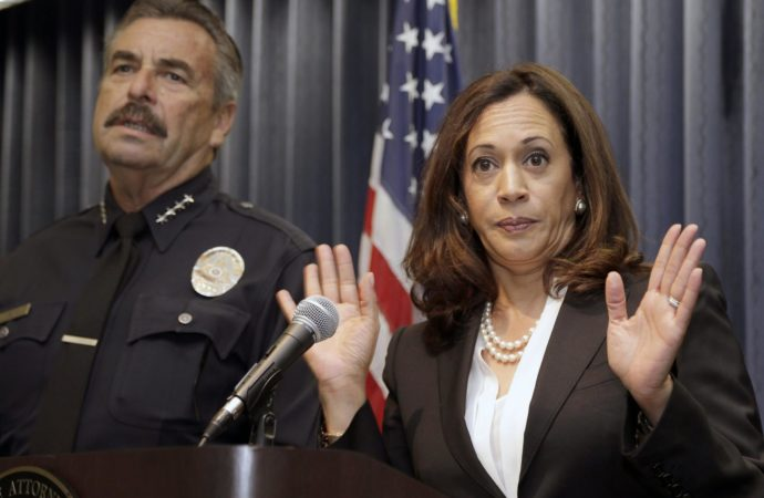 Was Kamala Harris Smoking Pot While Prosecuting Pot Users?