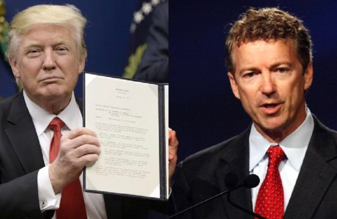 Rand Paul Will Vote to Block President Trump's Emergency Declaration