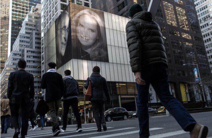 Billionaire Trolls Ex-Wife With Massive Display Near Times Square