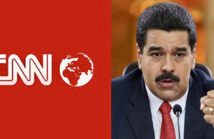 Maduro Kicks CNN Off The Air As Venezuelans Revolt Against Him