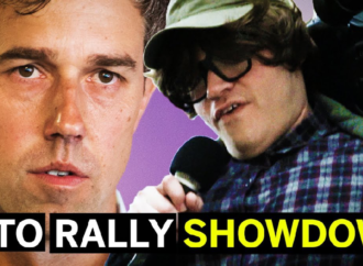 Michael Moore Crashes Beto Rally, Crowd Turns On Moore (Comedy)