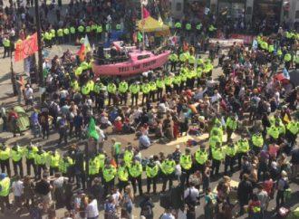 Climate Protestors Trashing London