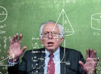 Bernie Admits He Can't Do Math, Gets Roasted