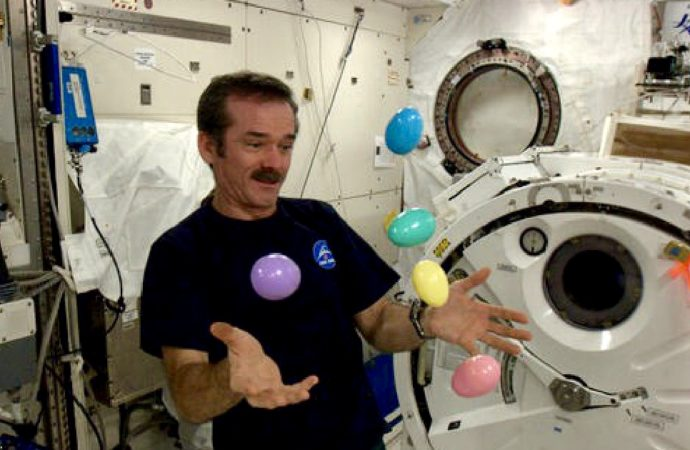ISS Astronauts Won't Miss Out On Easter Feast