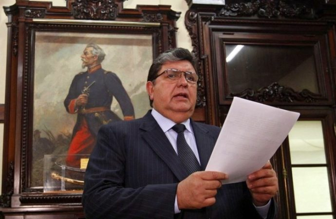 Peru's Ex-President Shoots Himself In The Head When Cops Knock On His Door With A Warrant