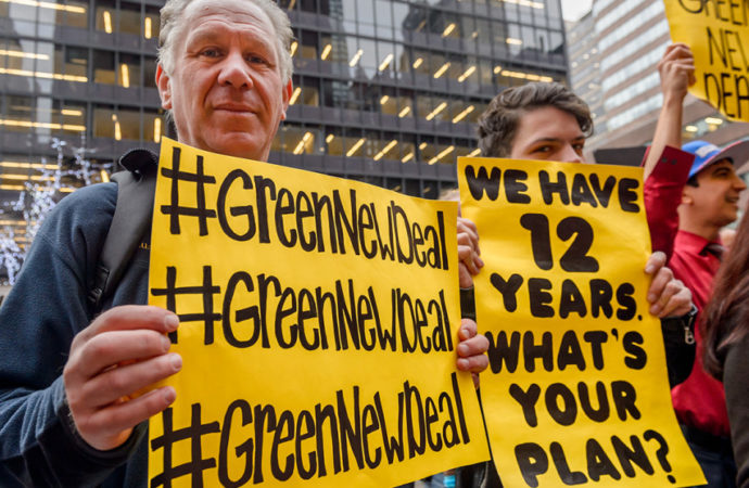 Ocasio-Cortez Promotes Green New Deal With Video That Envisions A Democratic Socialist Utopia