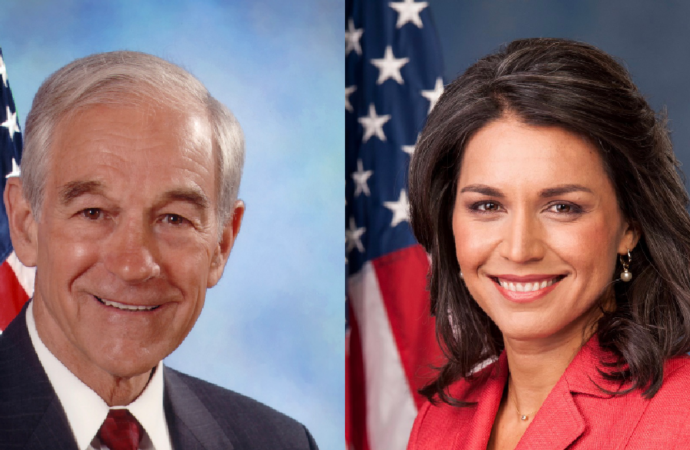 """Ron Paul Says Tulsi Gabbard is """"The Best Chance for Peace."""""""