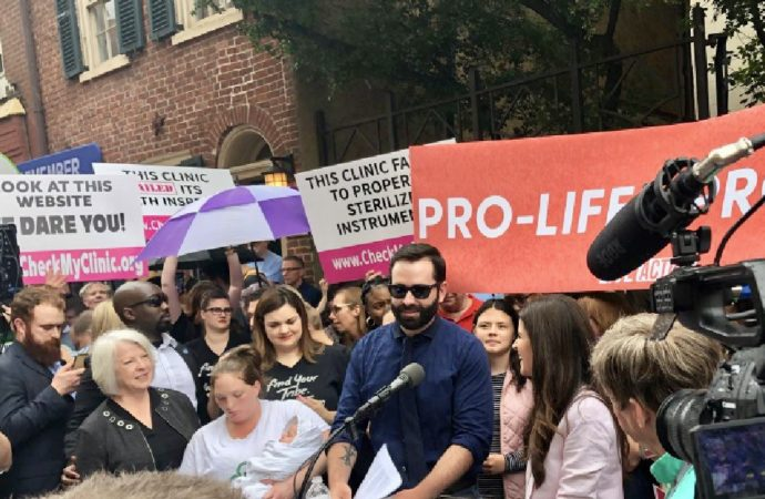 Pro Life Movement Takes It To the Streets Against Abortionist Democrat